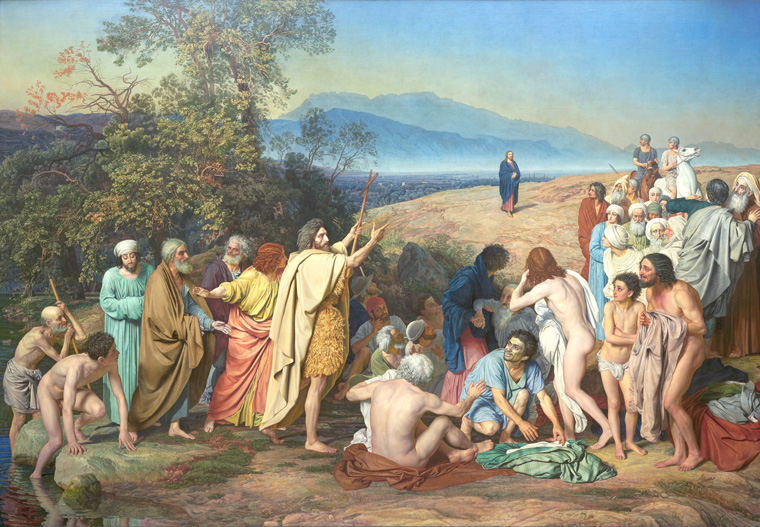 «Явление Христа народу», 1837-1857