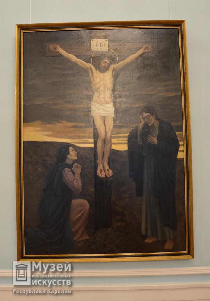 «Распятие Христа» В.Васнецов 1902г.