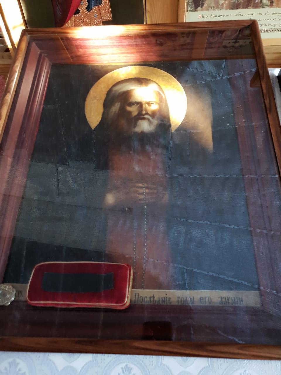 Икона Серафима Саровского. Скит Данилова монастыря